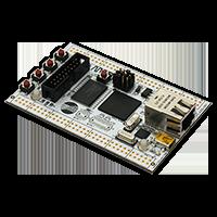 LPC4350-DB1-B development board with external ram