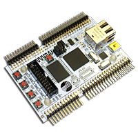 LPC4350 Development board with connectors