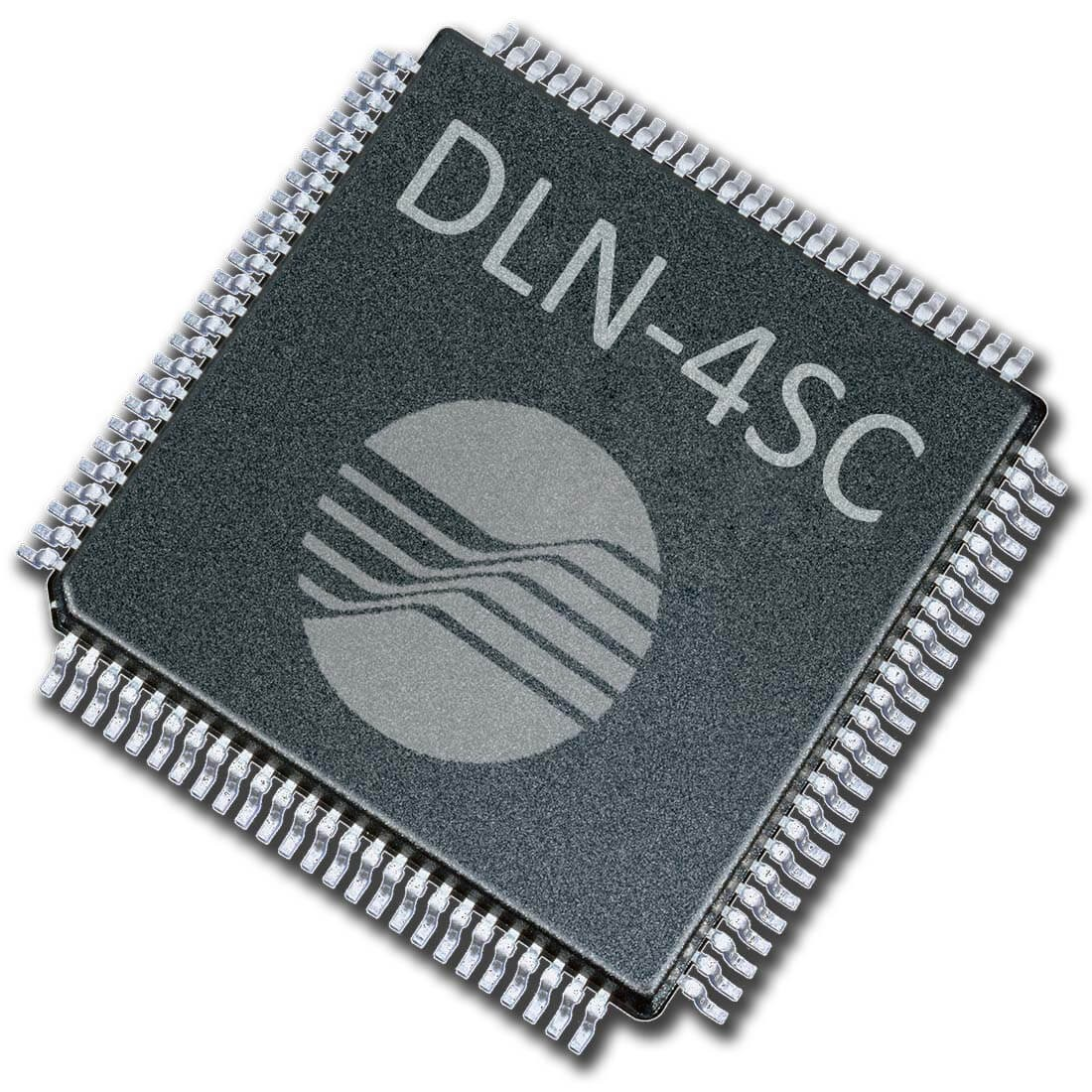 DLN-4SC USB-SPI/I2C Master and Slave Interface (system on chip)