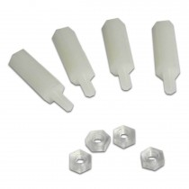 Four Plastic Legs (12 mm height)