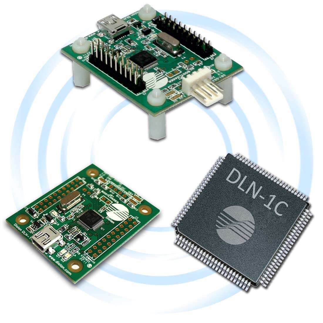 DLN-1 PC-I2C/SPI/GPIO Interface Adapter (DLN Adapter Group)