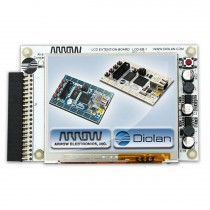 LCD-EB-1 3.5 inch TFT Touch Screen LCD Extension Board