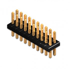 20 Pin Dual Row Male Connector